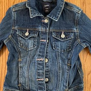 gaps kids denim jacket